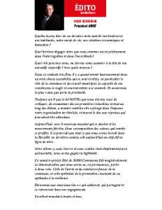 Edito_N376 Juillet/Août 2020