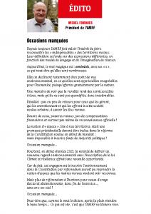 Edito_N387 Juillet-Août 2021