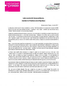 02-05 Lettre ouverte Emmanuel Macron