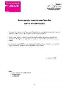 18-05 Soutien aux radios locales du réseau France Bleu