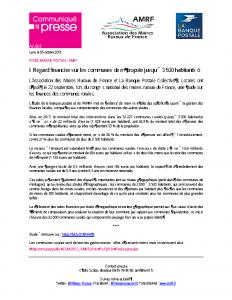 Finances locales Etude Banque_Postale