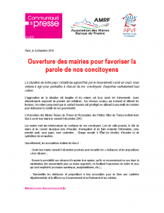 Operation Mairie Ouverte