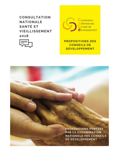 CNCD Consultation nationale Vieillissement