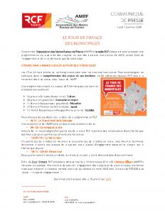 Tour de France Municipales AMRF-RCF