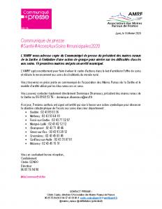 200218 – CP Santé Sarthe
