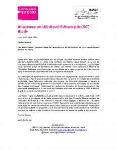 200327 – CP Carte scolaire
