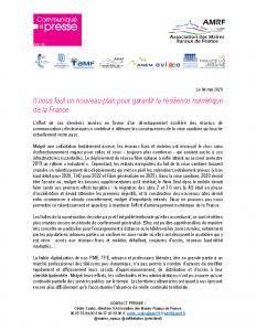 200504 – CP Plan résilience numérique