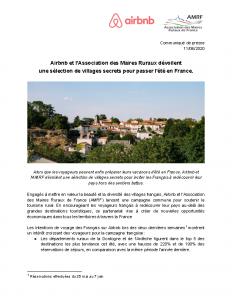 200611 CP Airbnb – AMRF – Villages secrets