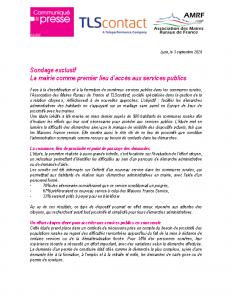 200903 – CP Sondage exclusif – La mairie comme premier lieu d'accès aux services publics