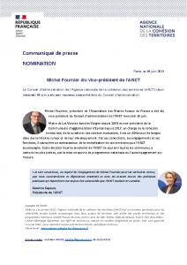 210616 – Nomination Michel Fournier ANCT