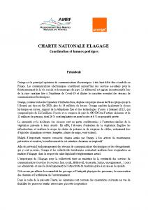 Charte Elagage Orange – AMRF