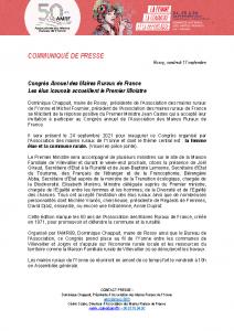 210917 – CP Congrès AMRF
